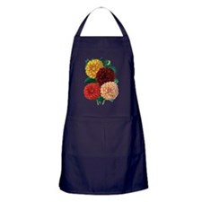 Dahlias Apron (dark)