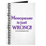 Menopause is Wrong! Journal