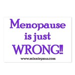 Menopause is Wrong! Postcards (Package of 8)