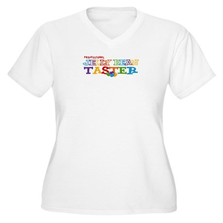 Jelly Bean Taster Women's Plus Size V-Neck T-Shirt