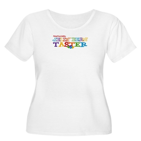 Jelly Bean Taster Women's Plus Size Scoop Neck T-S