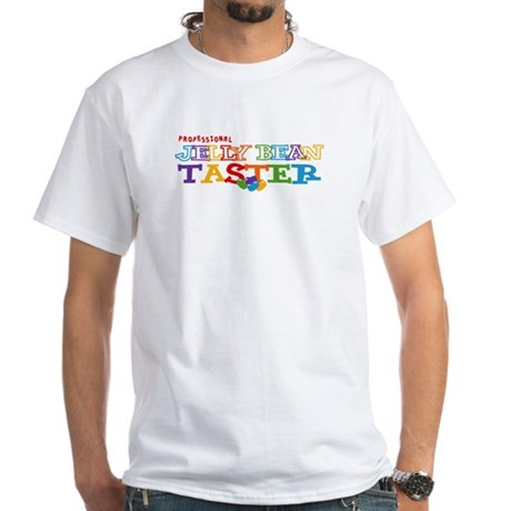 Jelly Bean Taster White T-Shirt