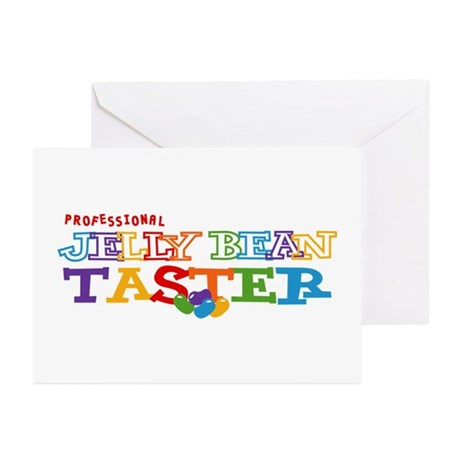 Jelly Bean Taster Greeting Cards (Pk of 10)
