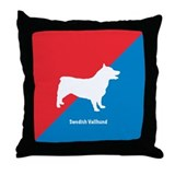 Vallhund Throw Pillow