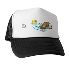 Toller_Ducky_8x3_Mug Trucker Hat