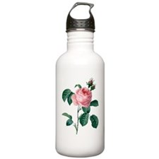 Pink Rose Water Bottle