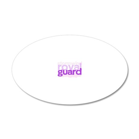 stormwind royal guard 20x12 Oval Wall Decal