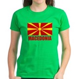 Macedonia Flag  T