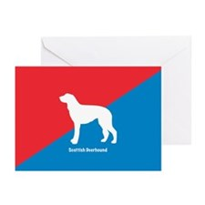 Deerhound Greeting Cards (Pk of 10)