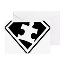 Autism is a Super Power Greeting Card