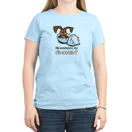 Somebunny Chocolate Women's Light T-Shirt