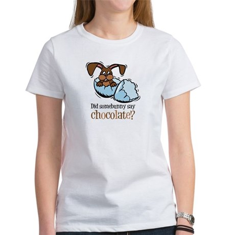 Somebunny Chocolate Women's T-Shirt