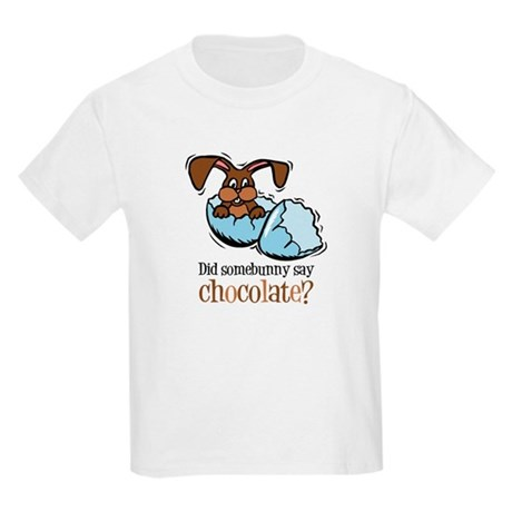 Somebunny Chocolate Kids Light T-Shirt