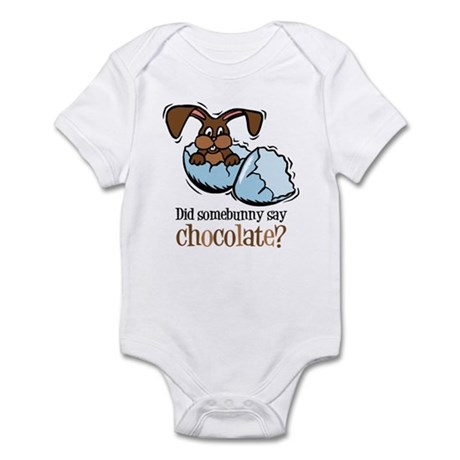 Somebunny Chocolate Infant Bodysuit