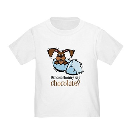 Somebunny Chocolate Toddler T-Shirt