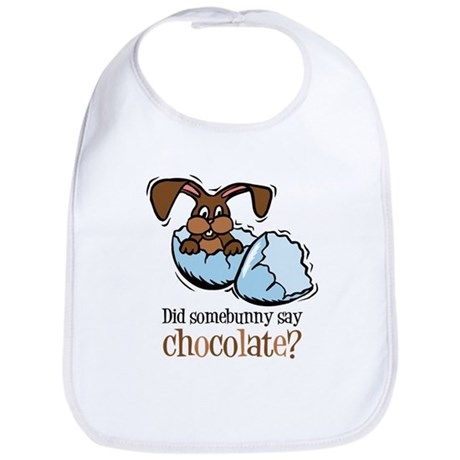 Somebunny Chocolate Bib