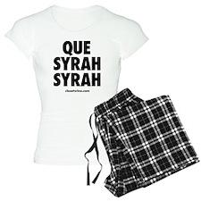 Que Syrah Syrah Pajamas