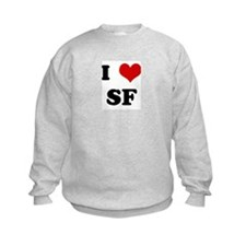I Love SF Sweatshirt