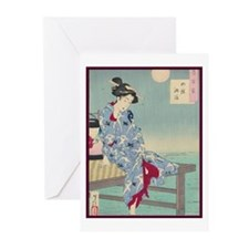 Japanese illustration Greeting Cards (Pk of 10