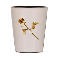 Gilded Rose Shot Glass