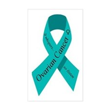 Ovarian cancer awareness Rectangle Bumper Stickers
