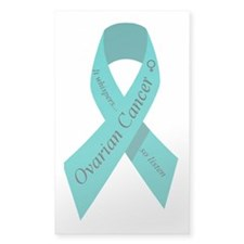 Ovarian cancer awareness Rectangle Decal