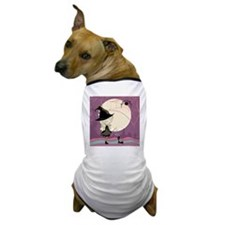 cute girl in halloween costume cast a  Dog T-Shirt