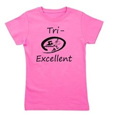 Tri-Excellent Logo Girl's Tee