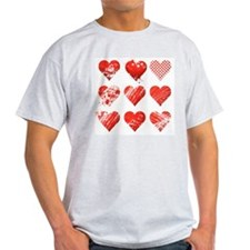 Nine Heart, Vector T-Shirt