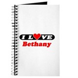 I Love Bethany Journal