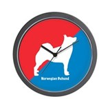 Buhund Wall Clock