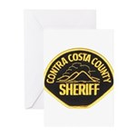 Contra Costa Sheriff Greeting Cards (Pk of 10)