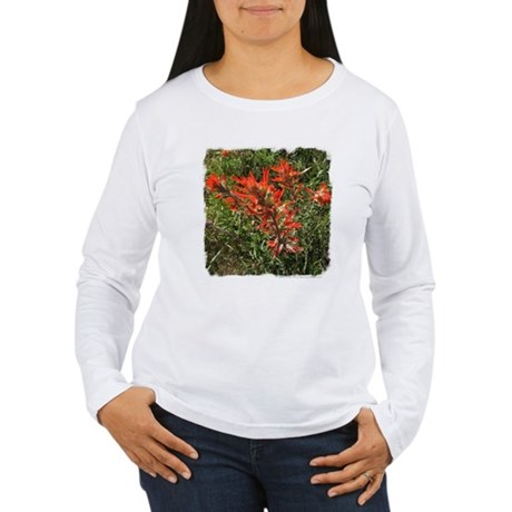 Indian Paintbrush Women's Long Sleeve T-Shirt