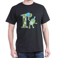Leap Frog 1st Birthday with Party Hat T-Shirt