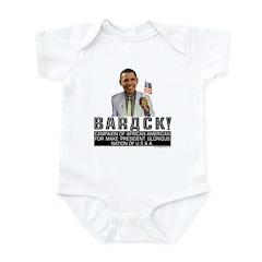 Barack for Make President Infant Bodysuit