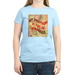 Flat New Mexico Women's Light T-Shirt