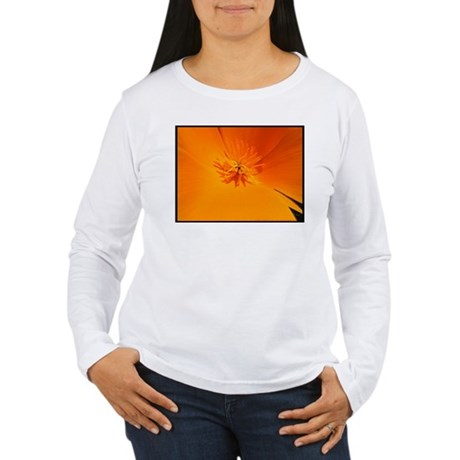 California Poppy Women's Long Sleeve T-Shirt