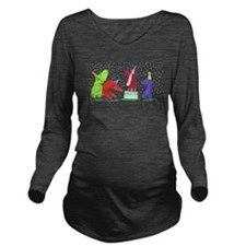 300 partyDOGS.jpg Long Sleeve Maternity T-Shirt