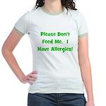 Please Don't Feed Me - Allerg Jr. Ringer T-Shirt
