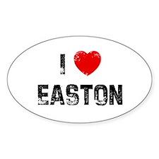 I * Easton Oval Decal