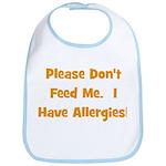 Please Don't Feed Me - Allerg Bib