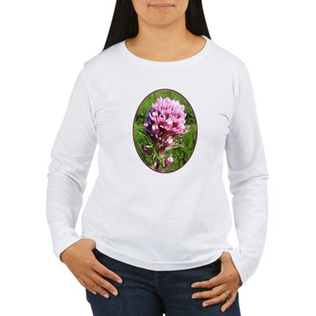 Purple Owl's Clover Women's Long Sleeve T-Shirt