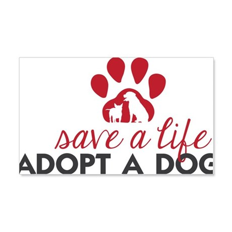 Save a Life 20x12 Wall Decal