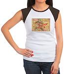 Flat Colorado Women's Cap Sleeve T-Shirt