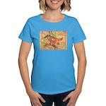 Flat Colorado Women's Dark T-Shirt