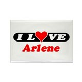I Love Arlene Rectangle Magnet (10 pack)
