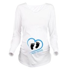 Funny Boys Long Sleeve Maternity T-Shirt