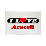 I Love Araceli Rectangle Magnet (10 pack)