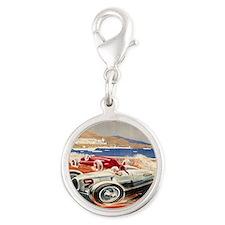 1936 Monte Carlo Grand Prix Po Silver Round Charm