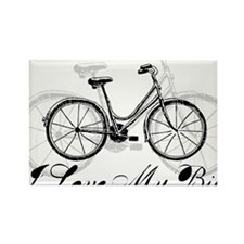 My Bike Rectangle Magnet